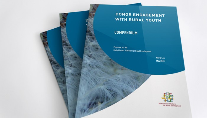 Donor engagement with rural youth
